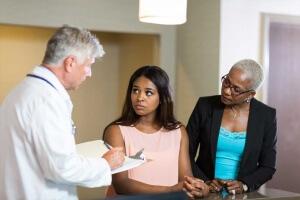 doctor talking about plan