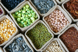 Collection Of Grain, Cereal, Seed, Bean