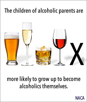 alcoholics and children