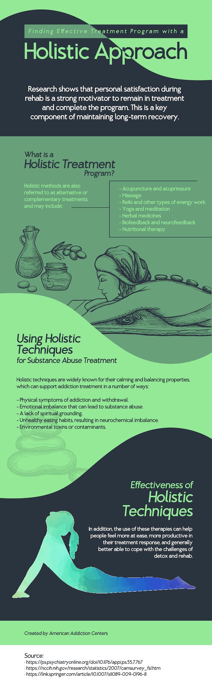 holistic methods used in addiction treatment